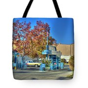 Raleigh Studios Hollywood Ca Film Production Stages Tote Bag