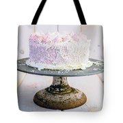 Raspberry White Chocolate Cake Tote Bag