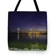 Rocky Shore In Charleston Sc Tote Bag