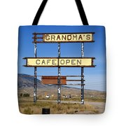 Rawlins Wyoming - Grandma's Cafe Tote Bag