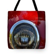 Red Classic Ford Tote Bag