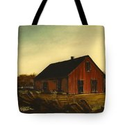 Red Barn   No. 3 Tote Bag