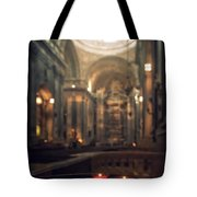 Red Candles Tote Bag