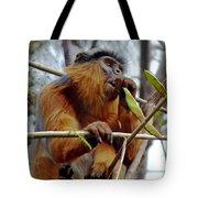 Red Colobus Monkey Tote Bag