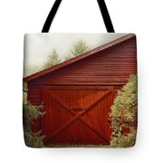Red Door Tote Bag
