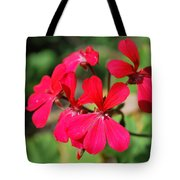 Red Flower Tote Bag