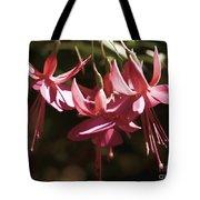 Red Fuchsia Tote Bag
