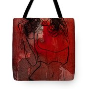 Red Is The Color Of Love Tote Bag