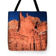 Red Rock Fisher Towers Tote Bag