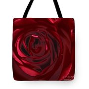 Red Rose Abstract 2 Tote Bag