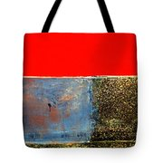 Red Wall Tote Bag