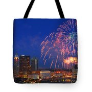 Red White And Boom Photo Tote Bag