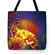 Red Yellow Blossoms 10197 Tote Bag