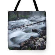 Redfish Creek In Stanley Idaho Tote Bag