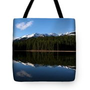 Reflection Bay - Jasper, Alberta - Panorama Tote Bag