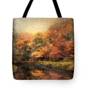 Reflections Of October Tote Bag