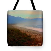 Remote New Zealand Beach Tote Bag