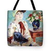 Renoir's Mlle Charlotte Berthier Tote Bag