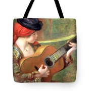 Renoir's Young Spanish Woman With A Guitar Tote Bag