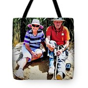 Rest Stop At Coorong Tote Bag