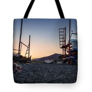 Resting Boats Tote Bag