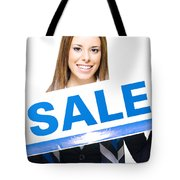 Retail Sale Tote Bag