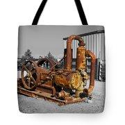 Retired Petroleum Pump Tote Bag