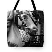 Retro Carousel Tote Bag