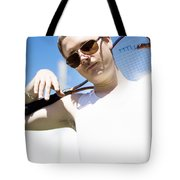 Retro Tennis 1970 Tote Bag