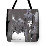 Revolutionary Couple In Studio Unknown Location 1915-1920-2014 Tote Bag