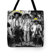Revolutionary Soldiers Unknown  Mexico Location 1914-2014 Tote Bag