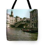 Rialto Bridge In The Grand Canal Tote Bag