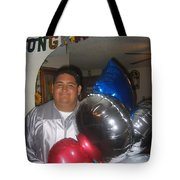 Ricardo Celebrating His High School Graduation Eloy Arizona 2002 Tote Bag