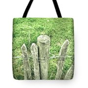 Rickety Fence Tote Bag