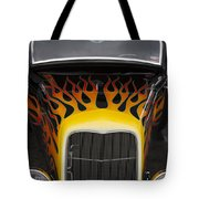 Riding The Flame Tote Bag