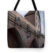 Riga Old City Walls Tote Bag