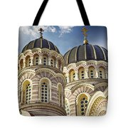 Riga Orthodox Cathedral Tote Bag