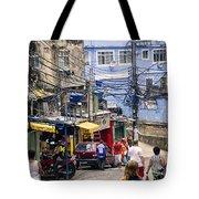 Rio De Janeiro  Brazil - Favela Tote Bag