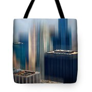Rising Metropolis Tote Bag