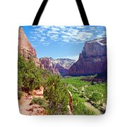 River Through Zion Tote Bag