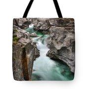 River With A Roman Bridge Tote Bag