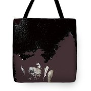 Robert Mitchum Head Down Collage Number 3 Young Billy Young Set Old Tucson Arizona 1968-2012 Tote Bag