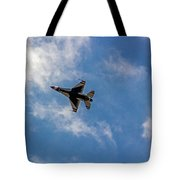 Rochester Air Show Thunderbirds Tote Bag