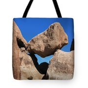 Rock Formation - Joshua Tree National Park Tote Bag
