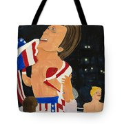 Rocky Balboa Tote Bag by Don Larison