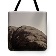 Rocky Hill In The Scottish Highlands Tote Bag