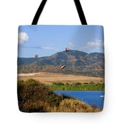 Rocky Mountain Balloon Festival Tote Bag