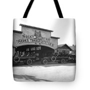 Rocky Mountain Touring Cars Tote Bag