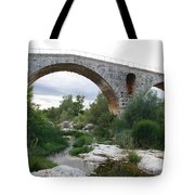 Roman Arch Bridge Pont St. Julien Tote Bag