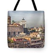 Rome Cityscape Tote Bag